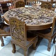 Мебель деревянная резная фото