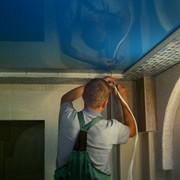 Монтаж натяжных потолков фото