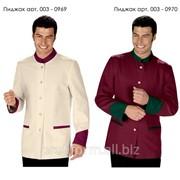 Униформа для работников отелей (пиджак мужской), арт. 003-0969 фото