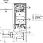 Комплект оборудования к чугунным котлам под пеллету, уголь, щепу от 12 до 25 кВт фото