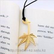 Закладка для книг и блокнотов Листок коно фото