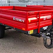 Прицеп тракторный самосвальный Metal-Fach Т-735/1 фото