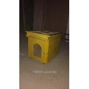 Будка для собаки утепленная,крашеная фото