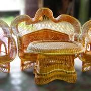 Мебель плетеная из тростника фото