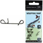 Застёжка для безузлового крепления плетенки Wrapping Snap L (12 шт.) фото