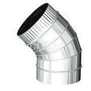 Отвод 45 d 80 3 сегм (нерж AISI 430 0.5 мм) Sferra фото