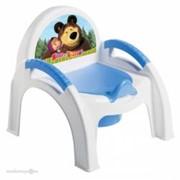 Горшок детский стульчик Маша и Медведь С13799 фото