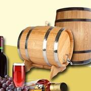 Бочка для вина и коньяка из дуба на 10 литров фото