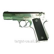 Хромированный травматический пистолет ЭРМА 459-Р фото