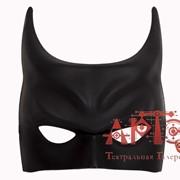 Маска Бэтмен черная фото