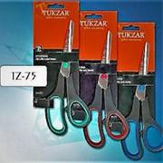 Ножницы 834952 Tukzar Tz 75 канцелярские sm_19,5 с пластик.ручками с резиновыми вставками ( 1 шт.) фото