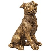 Скульптура Щенок / Собака 27х39х27см. арт.МК1099 фото