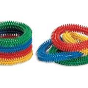 Массажные кольца с игольчатыми шипами Размер: 17 см. фото