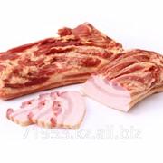 Продукт из свинины мясной грудинка сырокопченая Венгерская фото