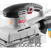 Машина Зубр плоскошлифовальная, мет платформа, 115х230мм, 6000-10000 об/мин, мешок для сбора пыли,300Вт Код: ЗПШМ-300Э-02 фото