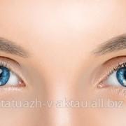 Перманентный макияж бровей, теневая растушевка фото