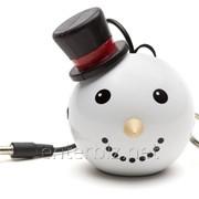 Колонка KitSound Mini Buddy Speaker Snowman White (KSNMBSM), код 129412 фото