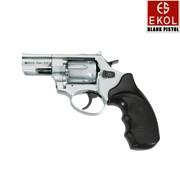 Револьвер Флобера EKOL VIPER 2,5, хромированый, пластиковая рукоять фото