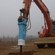 Гидромолот, бетонодробилка фото