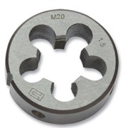 Плашки круглые левые (LH) 9ХС М22x2,5 LH фото