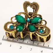 Краб (5 см.) бронзовый с цветными камнями 213276(77) фото