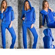 Спортивный костюм стильный . za3175 фото
