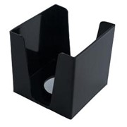 Куб для бумаги 90х90х90 мм черный фото