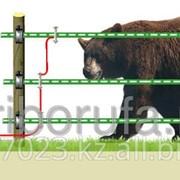 Комплект для защиты пасек от медведей 12V на 600 м.+ Солнечная батарея фото