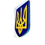 Герб Украины объемный, арт. 015-03227 фото