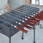 Шампур нержавеющая сталь 3мм фото