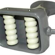 Массажная насадка роликовая для вакуумного массажёра (2 рельефных ролика) фото