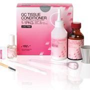 Кондиционер для тканей GC Tissue Conditioner 90 г порошок, 90 г жидкость, 15мл защитное покрытие фото