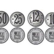 Венесуэла. Комплект обиходных монет - 1, 5, 10, 12.5, 25 и 50 сентимо, 1 боливар. 2007 г. фото