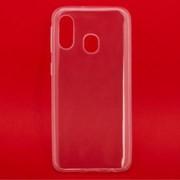 Силиконовый чехол «LP» для Samsung Galaxy A40 TPU (прозрачный) фото