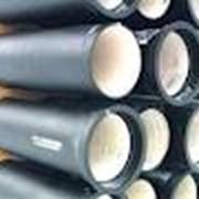 Трубы и фитинги чугунные для систем внутренней канализации фотография