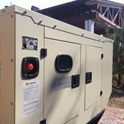 Дизель генератор UND 150, в кожухе. фото