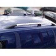 Рейлинги на Peugeot Partner Trepee 08- длинная база, серый, Crown (Can Otomotiv) фото
