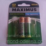Аккумуляторные батарейки MAXIMUS HR6 1800 mAh фото