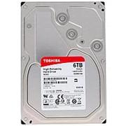 "Жесткий диск HDD Toshiba N300 SATA3 6Tb 3.5"" 7200 128Mb (HDWN160UZSVA) фото"