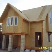 Теплый дом. Дома каркасные деревянные фото