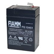 Аккумуляторная батарея 6V 4,5Ah Fiamm FG 10451 фото