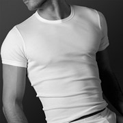 Мужские футболки трикотажные с короткими рукавами фото