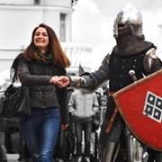 Рыцарское шоу корпоратив, свадьбу, юбилей праздник фото