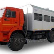Автомобиль-фургон с кузовом вахтовым АФВ-43118 фото