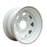 ORW ORW диск стальной 5x139.7 УАЗ 7х16 ET+30 d 110 белый фото