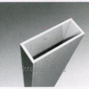 Квадратный полый профиль шифр 03/0025 B, мм 40 H, мм 40 фото