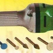 Инструмент для ручной обработки каменных изделий. фото