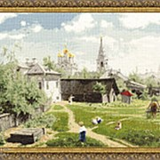 Набор для вышивания Московский дворик (Поленов В.Д.) фото
