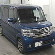 Микровэн турбо HONDA N BOX кузов JF1 класса минивэн модификация G гв 2012 пробег 87 т.км темно-синий хамелеон фото