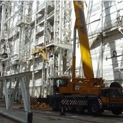 Монтаж стальных конструкций фото
